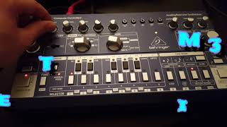 Td-3 behringer / the 3rd experience