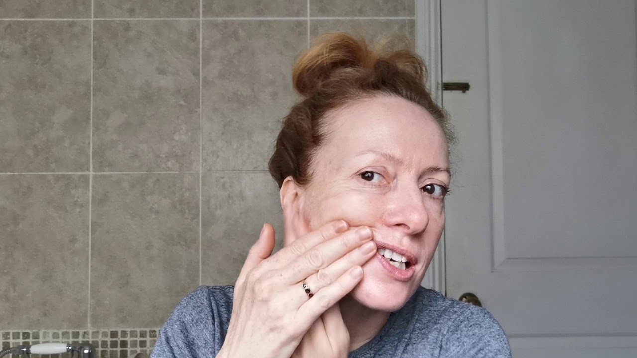 mature skin massage techniques Facial