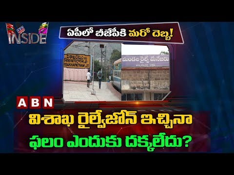 AP People Upset with BJP Decisions over Visakha Railway Zone | Inside