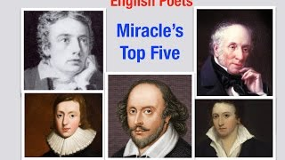 Famous Poets From Great Britain