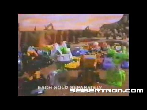 Transformers G1 Micromasters Patrols 1990 Commercial #2