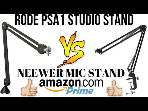 RODE PSA1 MICROPHONE STAND VS NEEWER IS IT WORTH THE EXTRA COST
