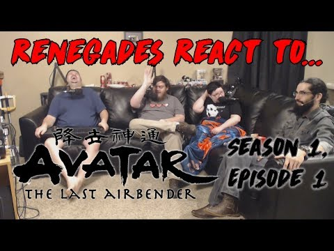Renegades React to... Avatar: The Last Airbender - Book 1, Chapter 1