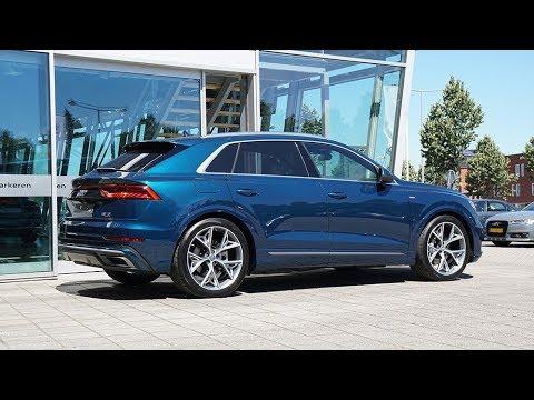 Audi Q8 50 Tdi S Line Galaxy Blue Metallic Youtube