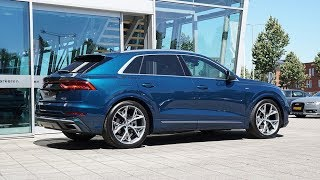 Audi Q8 50 TDI S-line - Galaxy Blue Metallic
