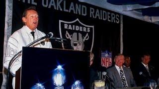 Oakland Raiders return to Oakland 1995