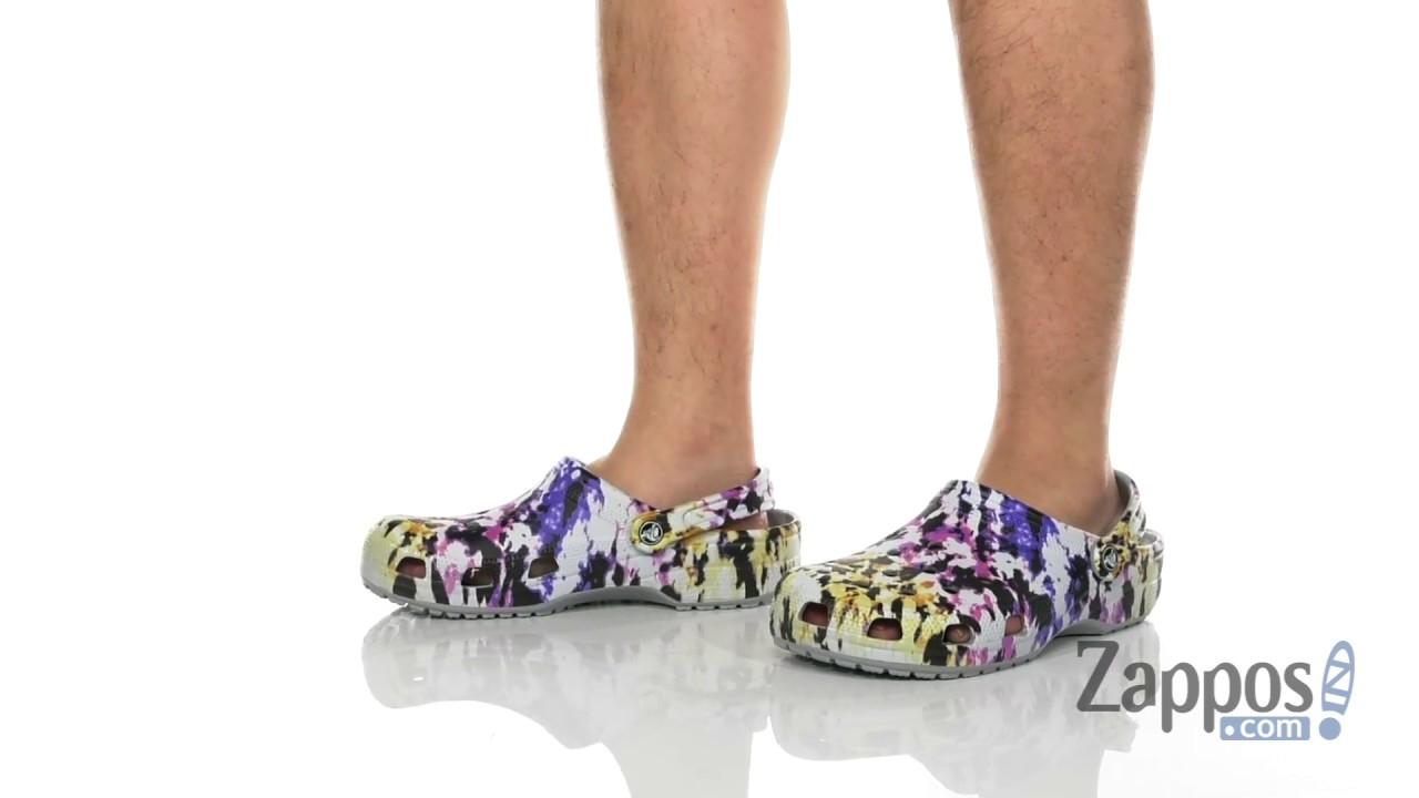 Crocs Classic Tie Dye Mania Clog