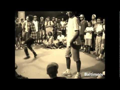 Baltimore Club Dancing Vs. Jersey Club Dancing Mashup Part 1