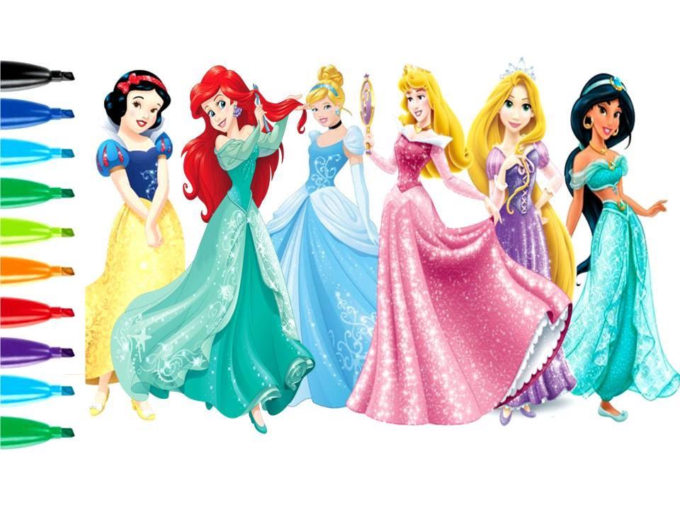 How To Draw Disney Princess Kids Fun Arts Kiddie Toys Youtube