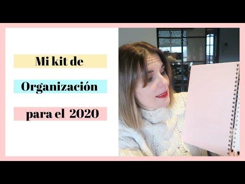 ORGANIZACIÓN: Mi Kit De Organización Para El 2020
