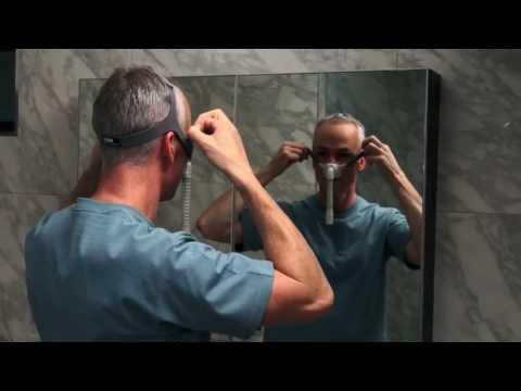 F&P Pilairo Q Mask Fitting