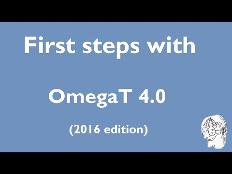 First steps with OmegaT 4.0 (2016 edition)