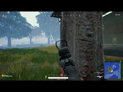 Sanhok: 1v2, CLEAN double tap SKS, spray down, and time to feast.