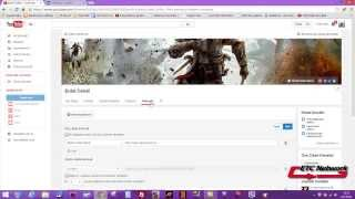 Youtube Ders-2  Kanal Resmi ve Bağlantı ekleme