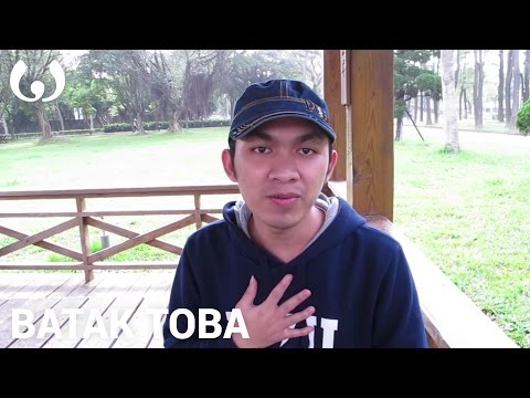 WIKITONGUES: Andi speaking Batak Toba
