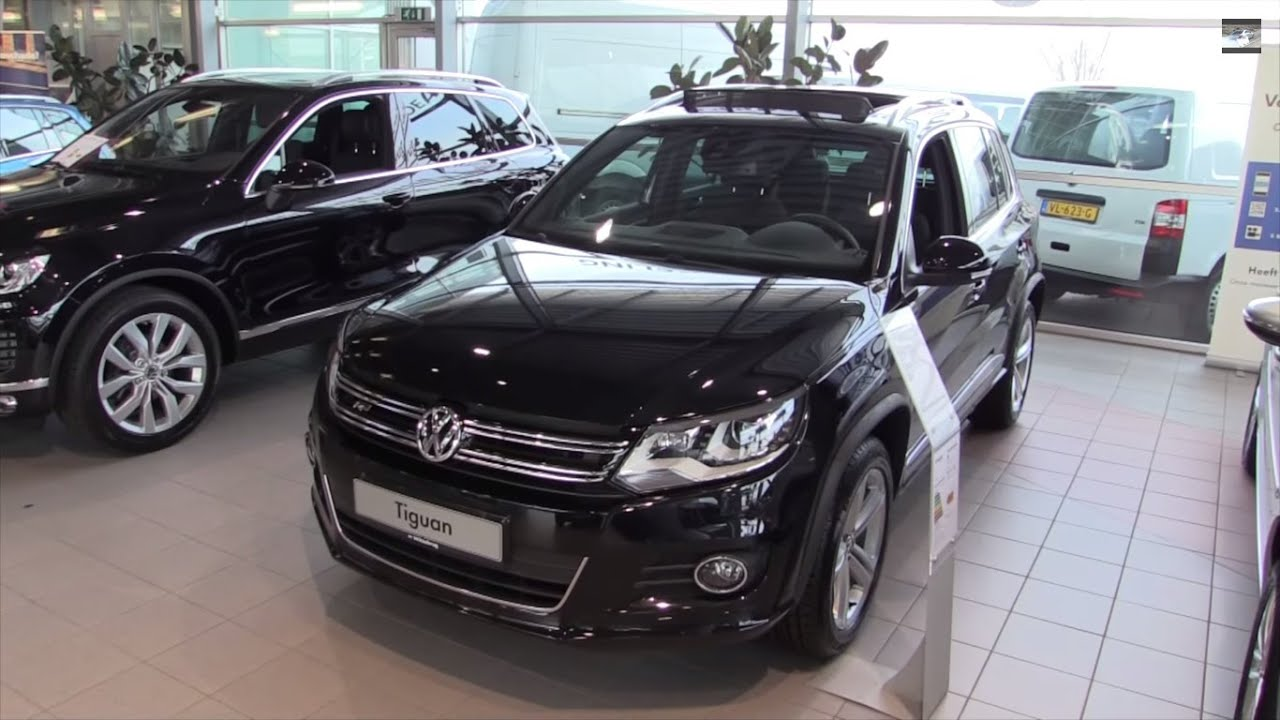 volkswagen tiguan r line 2016 in depth review interior. Black Bedroom Furniture Sets. Home Design Ideas