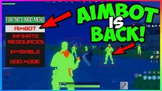 AIM BOT & Unlimited Materials HACK Is Back With GAMEPLAY! *MUST SEE* (Fortnite Battle Royale)