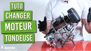 Comment changer le moteur d'une tondeuse