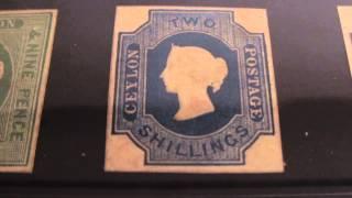 stamp collecting victoria Ceylon mint 9/120