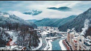 Сочи Зимняя сказка на Роза Хутор Крупнейший горнолыжный курорт 2021 на Красной поляне