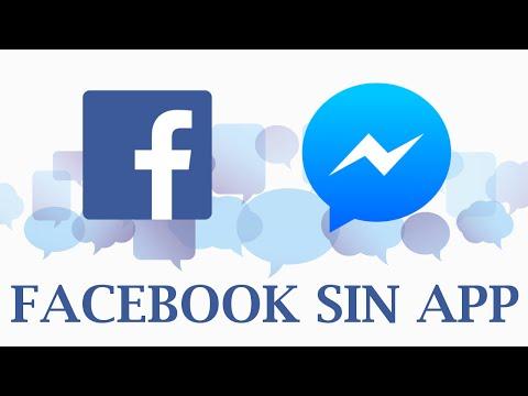 Cómo Usar Facebook Y Messenger Sin Instalar La App. 2016