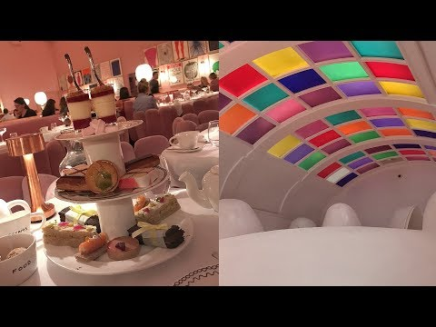 AFTERNOON TEA and SPACE PODS at Sketch - London Afternoon Tea