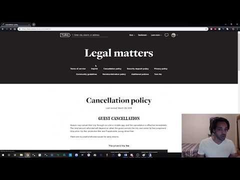 Turo Cancellation Policy >> Turo S Cancellation Policy Youtube