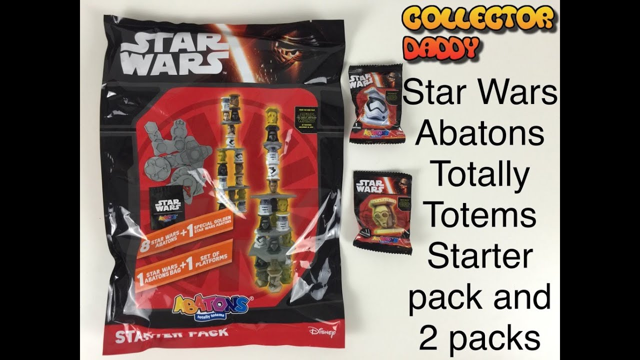 Star Wars Disney Abatons Collectors Pack By Panini