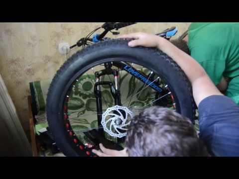 Обзор,распаковка,как заказать велосипед Фэтбайк с алиэкспресс