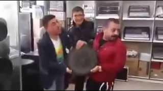 Aksaray'da Yeni Bass Hoparlör Deneyi :)))