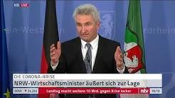 Live: Pressekonferenz aus dem Landtag in NRW