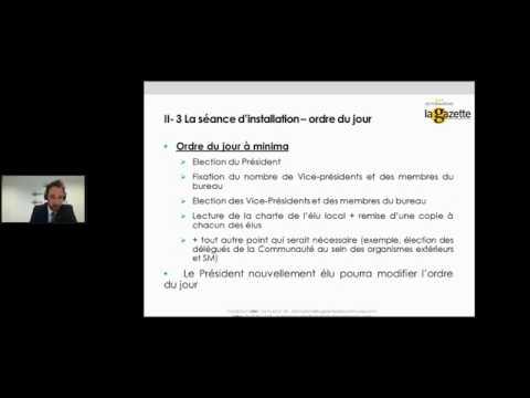 FUSION D'EPCI À FISCALITÉ PROPRE - REPLAY WEBINAR DU 27 JANVIER 2017