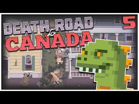Death Road to Canada - #5 - Kaiju Big Battle! (2 Player Gameplay)