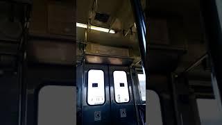 JR西日本下関駅〜JR九州文字駅 デッドセクション セクション切り替えの瞬間