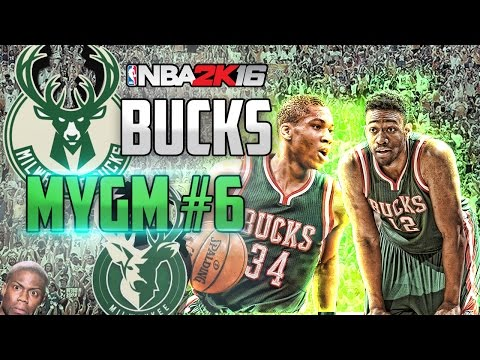 NBA2K16 MyGM Milwaukee Bucks: Trade For A Young SF! EP. #6