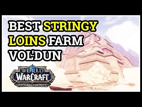 Best Stringy Loins Farm Spot WoW Vol'dun