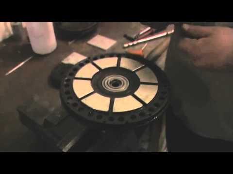 Jozztek 02  How to recondition an Agni Motor  Removing the shaft and Cleaning the magnets