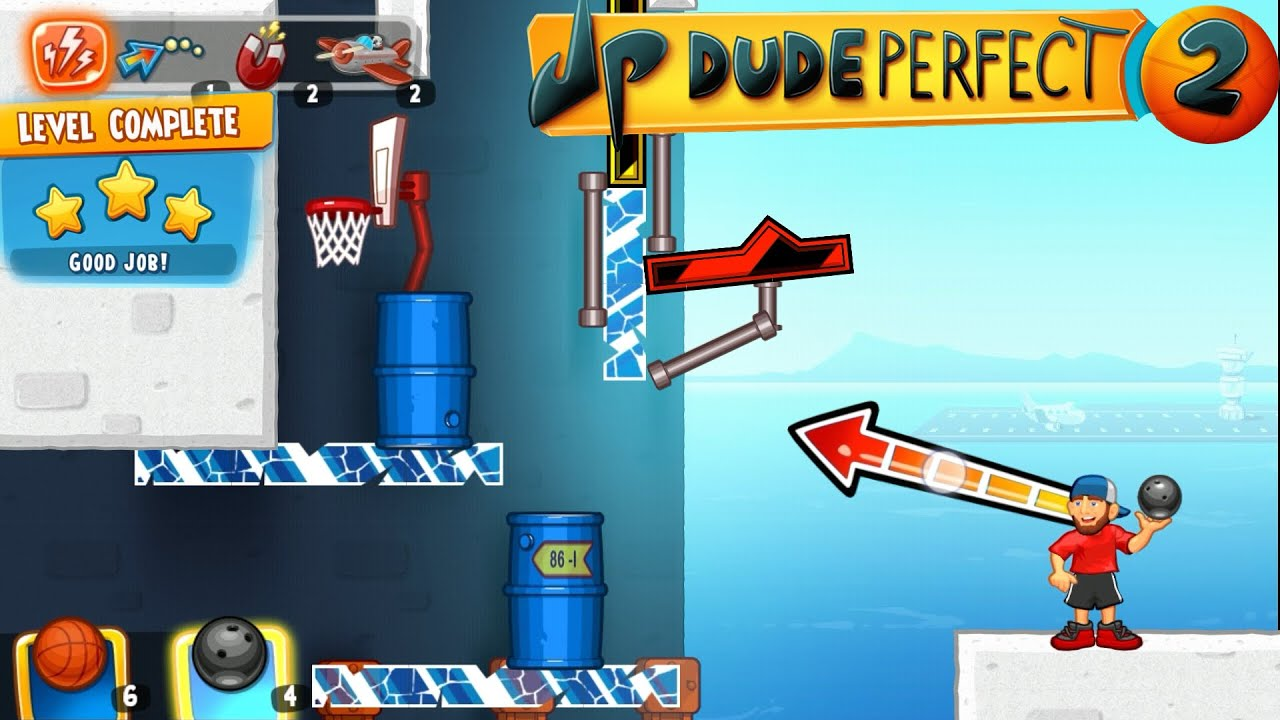 Dude Perfect 2: Level 34 / 3 Stars [Android] Gameplay HD by Dimo Petkov