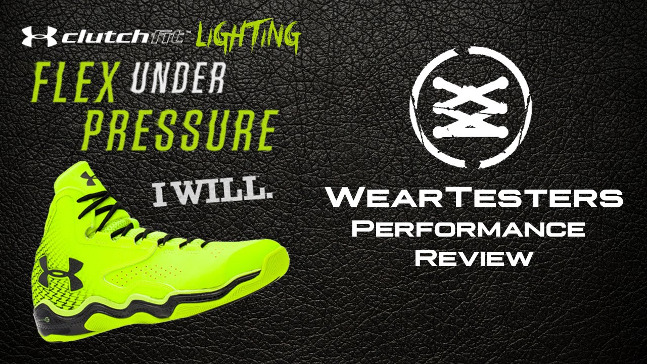 15252a2411f2 Under Armour ClutchFit Lightning - Performance Review - YouTube