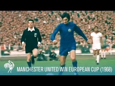 Manchester United Win European Cup 1968 (1968)