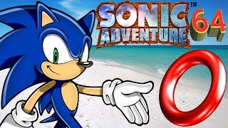 LOTS OF RINGS   Sonic Adventure 64 DEMO Part 2/2 (Super Mario 64 Rom Hack)
