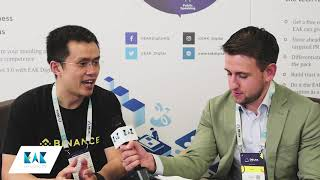 Blockchain Interview with Changpeng Zhao CEO of Binance @ Delta Summit 2018