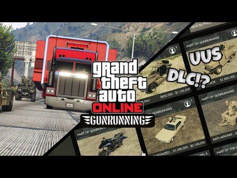 GTA V | Uusi GunRunning DLC!