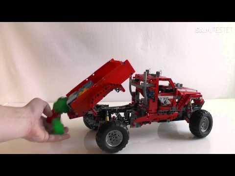 lego technic pick up truck hd deutsch lego technik truck. Black Bedroom Furniture Sets. Home Design Ideas