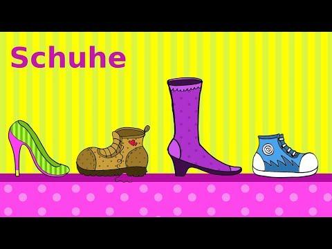 Deutsch lernen: Schuhe & Einkaufen im Schuhgeschäft