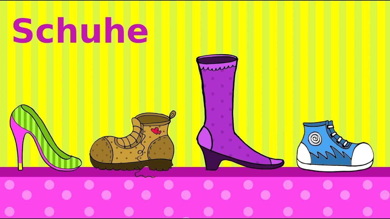 5646f3cc86eda3 Deutsch lernen  Schuhe   Einkaufen im Schuhgeschäft   learning German  shoes    shoe shopping