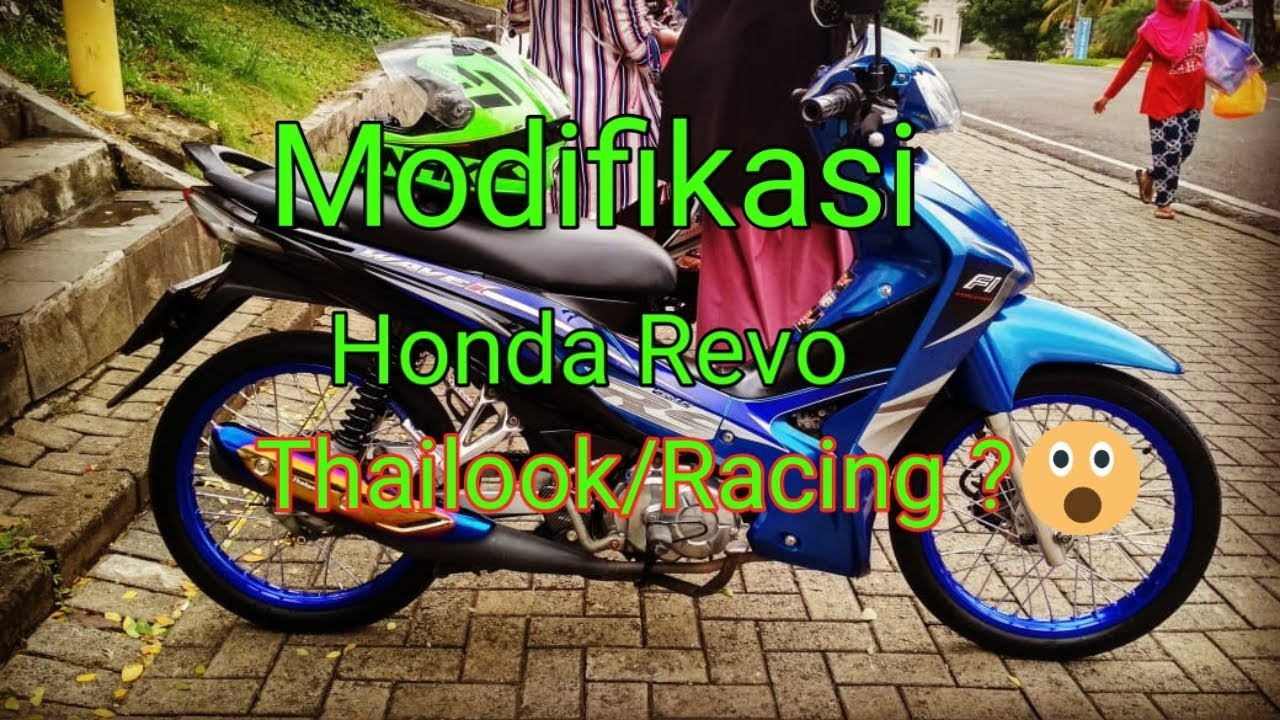 Modifikasi Honda Revo Fit Youtube