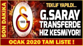 Galatasaray'da 6 Transfer 8 Ayrılık! I Karşınızda 2020 Tam Liste...
