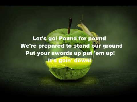 Descendants- Its goin down lyrics (lyric video)