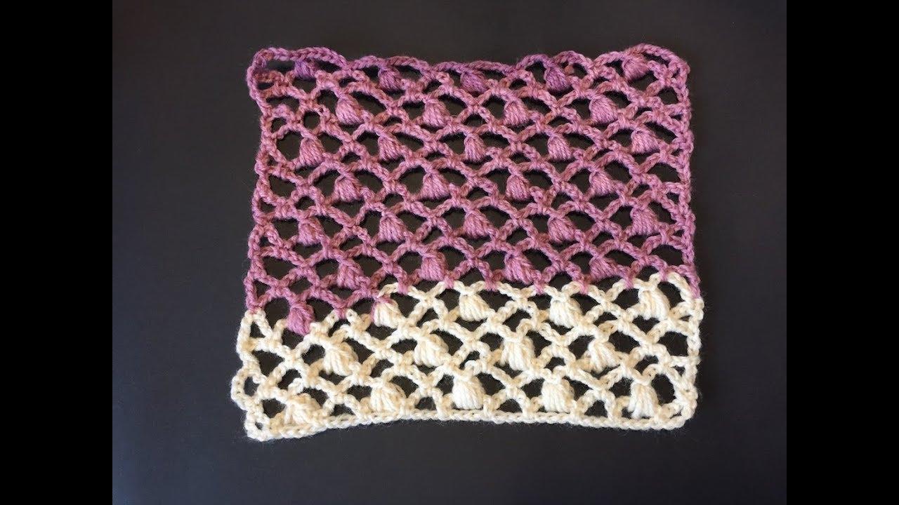 Tuto Motif étole écharpe Rideaux Au Crochet Youtube
